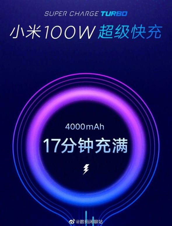 XIAOMI พร้อมเต็มที่กับเทคโนโลยีชาร์จไว 4,000 mAh จบลงได้ใน 17 นาที