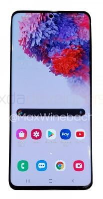 ภาพหลุด Samsung Galaxy S20+ ก่อนวันวางจำหน่ายอย่างเป็นทางการ