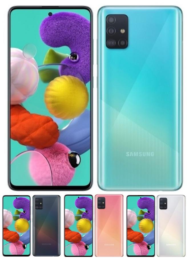 โฉมใหม่ Aซีรีส์ Samsung Galaxy A51 และ A71 ถ่ายรูปเยี่ยม เล่นเกมก็ยอด