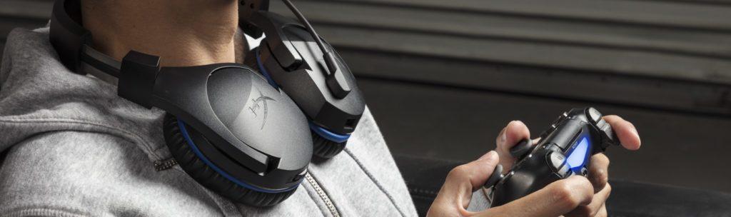 HyperX Cloud Stinger หูฟังเกมมิ่ง Surround เยี่ยม ไมค์ชัด เพื่อคอเกม PS4 โดยเฉพาะ