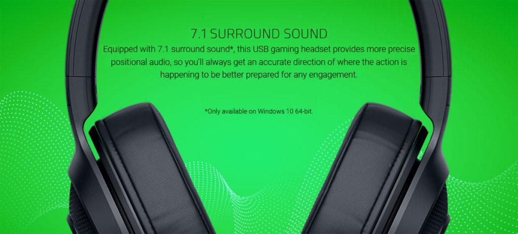 RAZER KRAKEN X USB หูฟังเกมมิ่งสายพันธุ์แกร่ง กับราคาที่คุณจับต้องได้