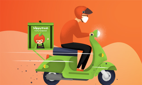 HappyFresh ของสดก็สั่งได้ ส่งตรง ส่งไวถึงบ้านคุณ