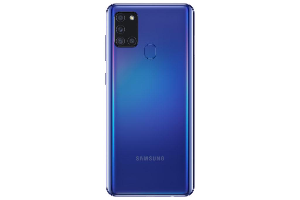 Samsung Galaxy A21s เปิดตัวพร้อมแบตเตอรี่ขนาด 5000mAh และกล้องหลังแบบ L-shaped
